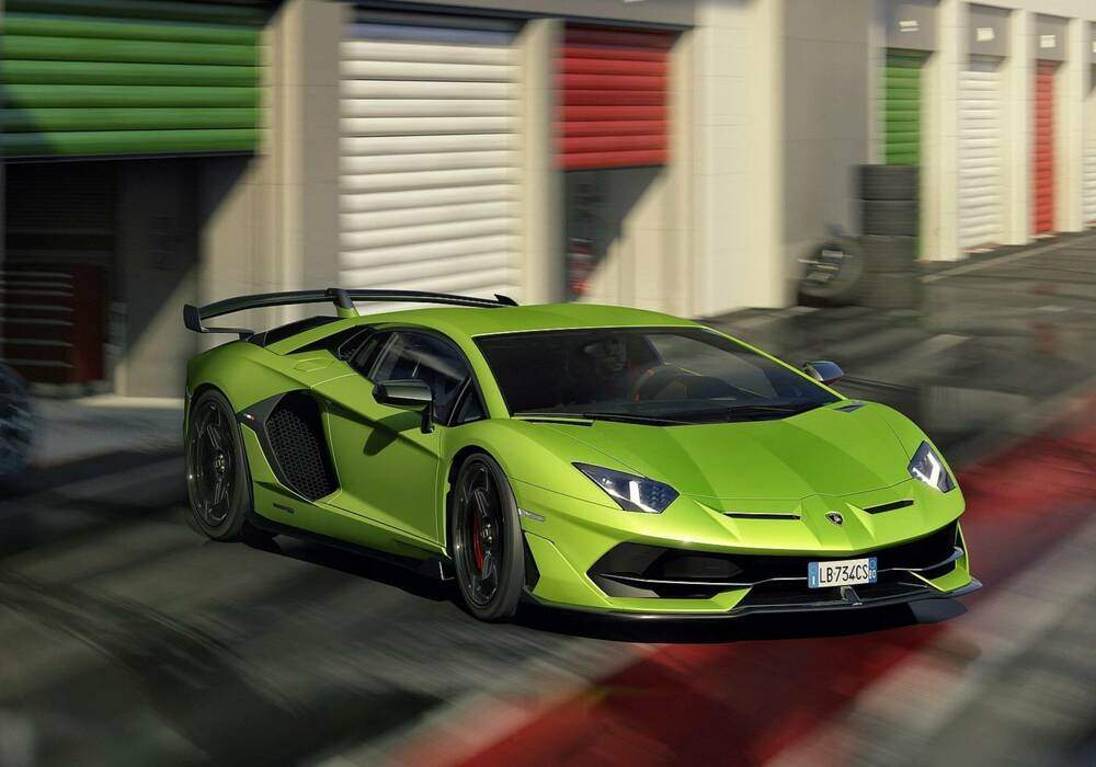 Fiche technique Lamborghini Aventador SVJ (2018)