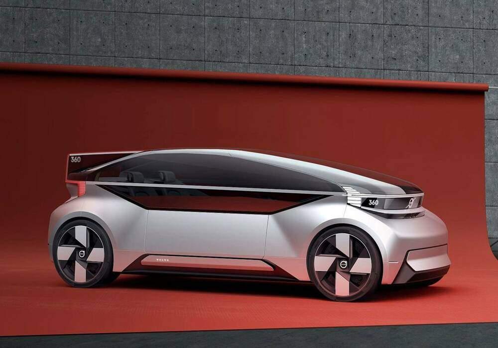 Fiche technique Volvo 360c Concept (2018)