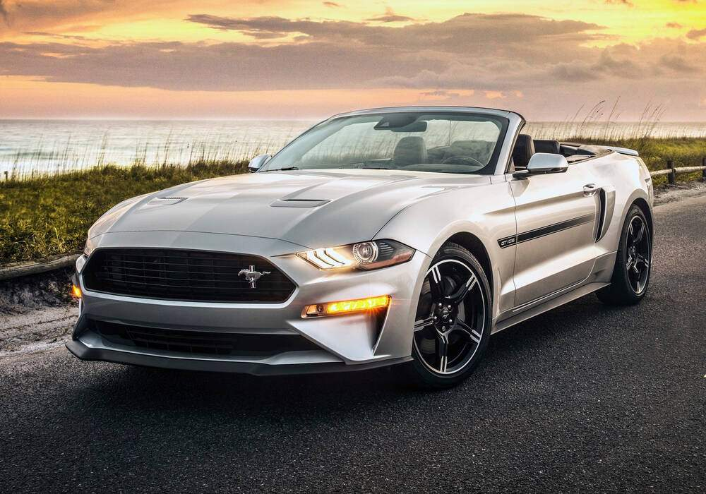 Fiche technique Ford Mustang VI GT Convertible « California Special » (2018)