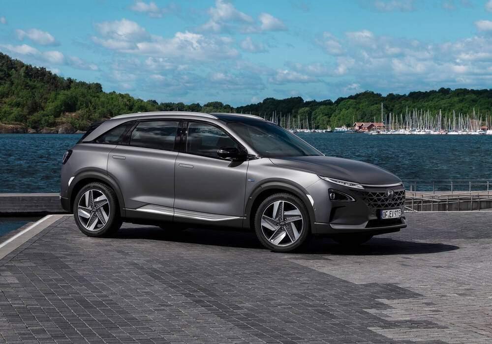 Fiche technique Hyundai Nexo (2018)