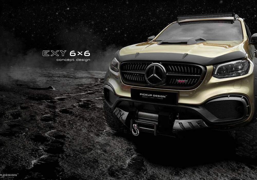 Fiche technique Carlex Design Exy 6x6 Concept Design (2018)