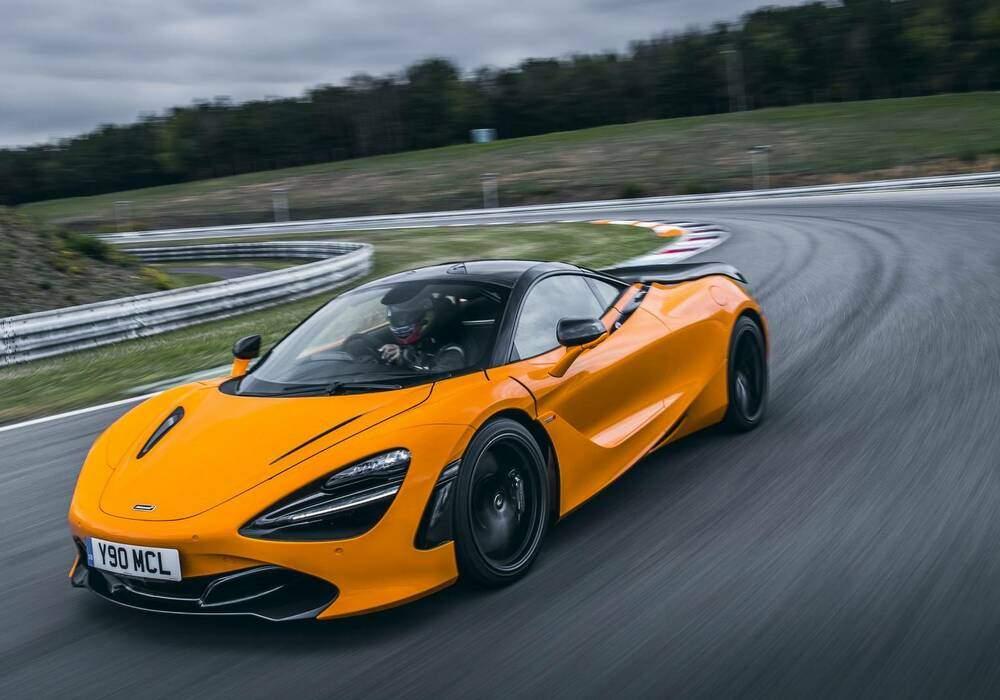 Fiche technique McLaren 720S Coupé « Track Pack » (2018)