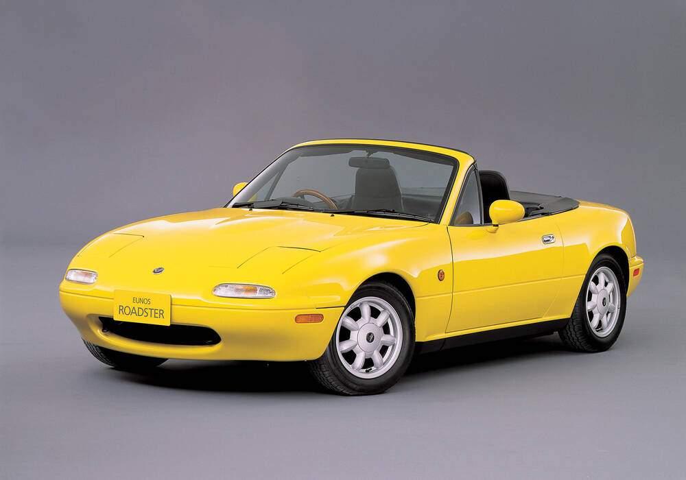 Fiche technique Eunos Roadster « J Limited » (1991-1992)