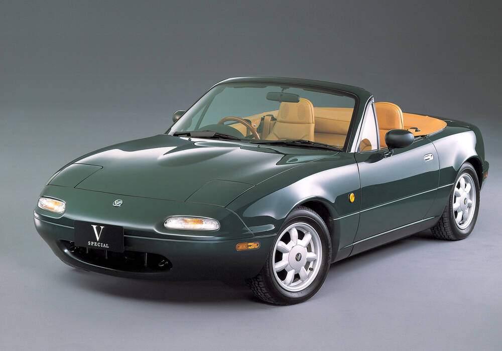 Fiche technique Eunos Roadster « V Special » (1990-1991)