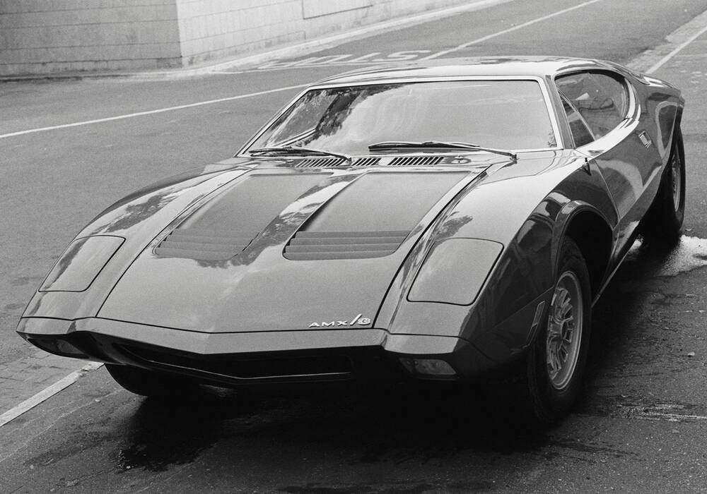 Fiche technique American Motors AMX/3 (1970-1971)