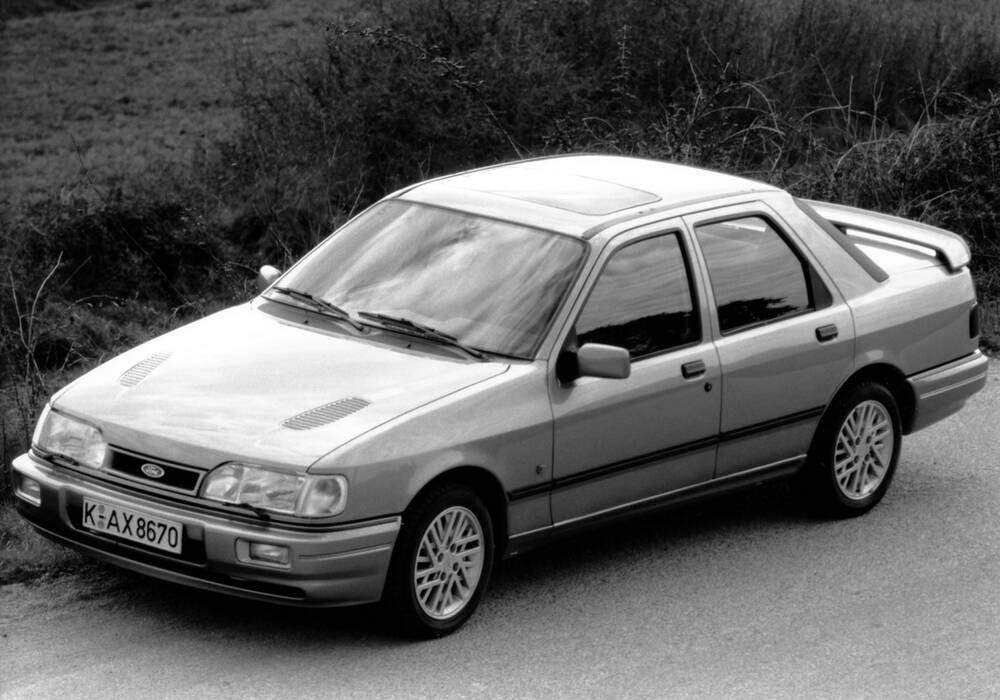 fiche technique ford sierra cosworth 4x4  1990