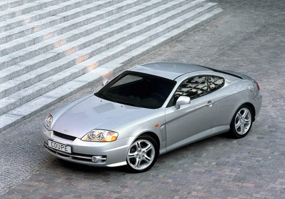 Fiche technique Hyundai Coupé III 2.7 V6 (GK) (2002-2009)