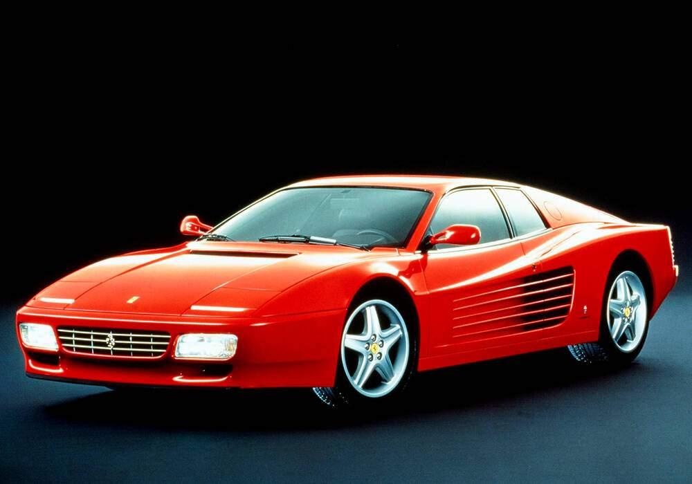 Fiche technique Ferrari 512 TR (1992-1994)