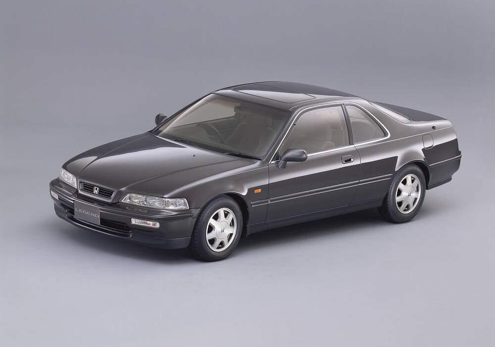 Fiche technique Honda Legend II Coupé 3.2 V6 (KA8) (1992-1996)