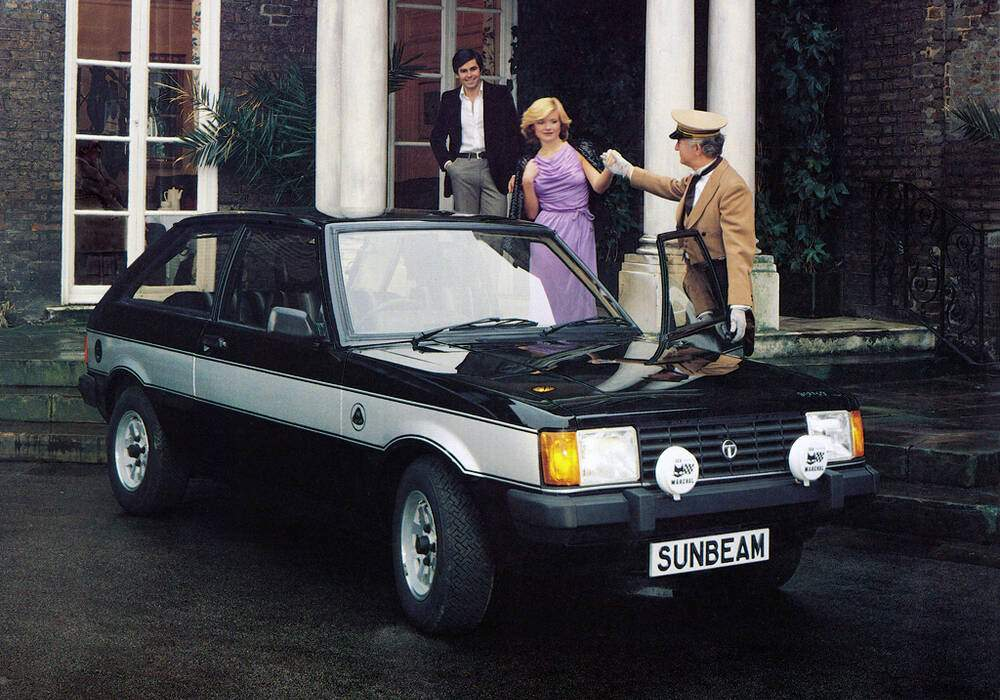 Fiche technique Talbot Sunbeam Lotus (1979-1982)