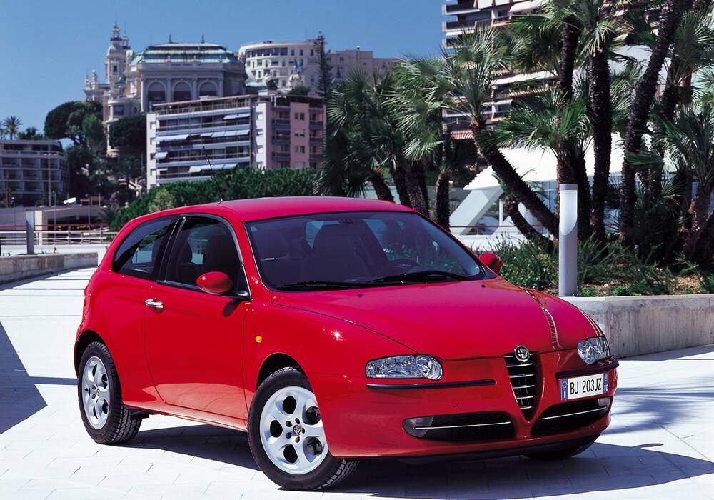 Fiche technique Alfa Romeo 147 1.6 TS 120 (937) (2000-2010)
