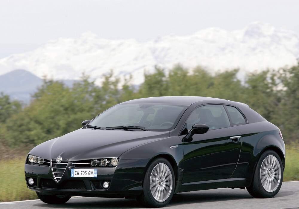 Fiche technique Alfa Romeo Brera 2.2 JTS 185 (939) (2006-2011)