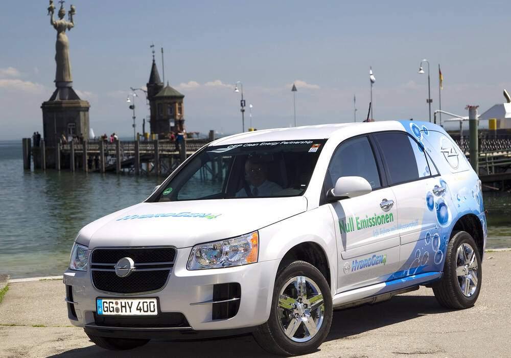 Fiche technique Opel HydroGen4 Concept (2008)