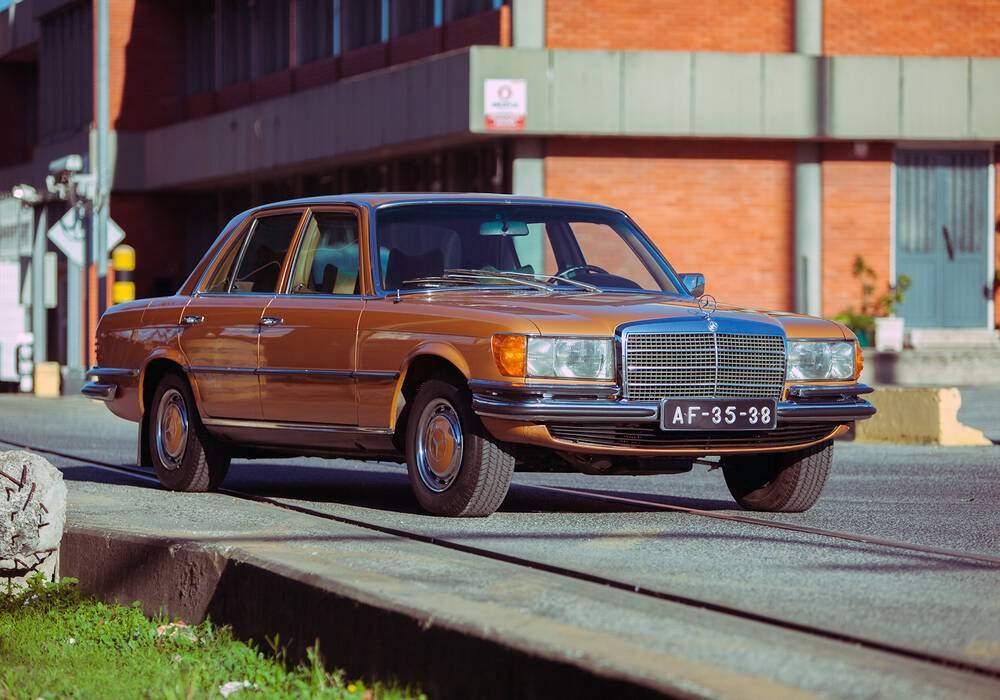Fiche technique Mercedes-Benz 350 SE (W116) (1978-1980)
