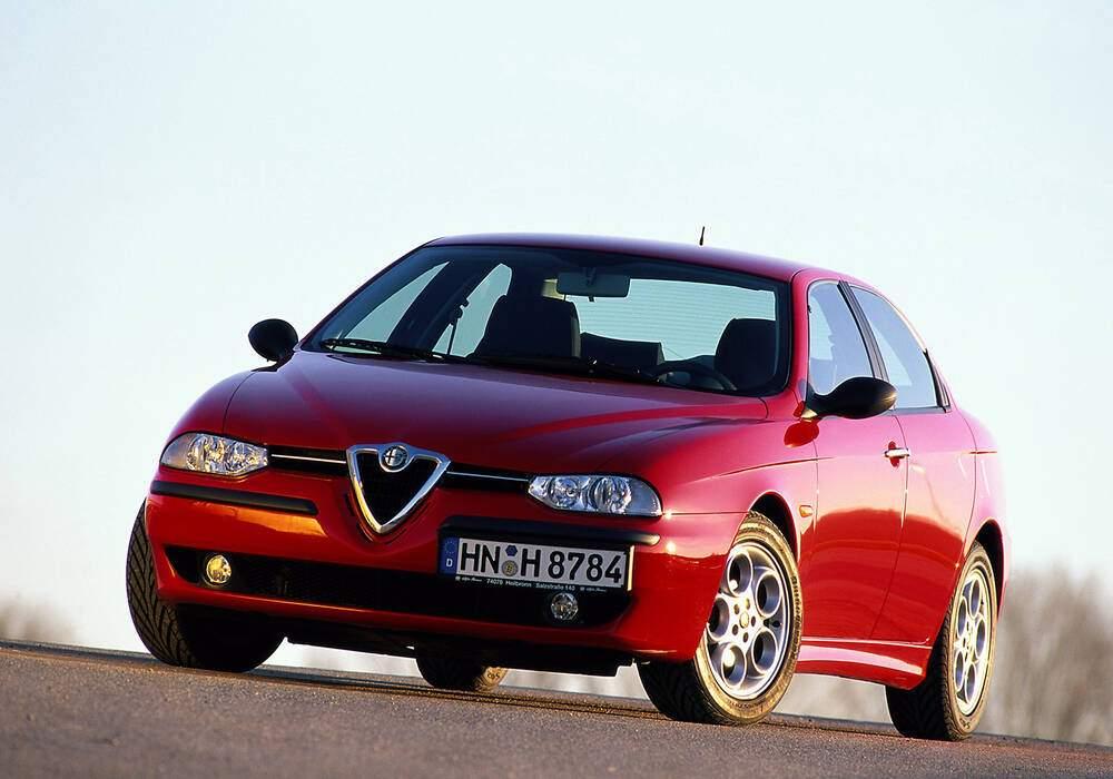 Fiche technique Alfa Romeo 156 1.8 TS 145 (932) (1998-2006)