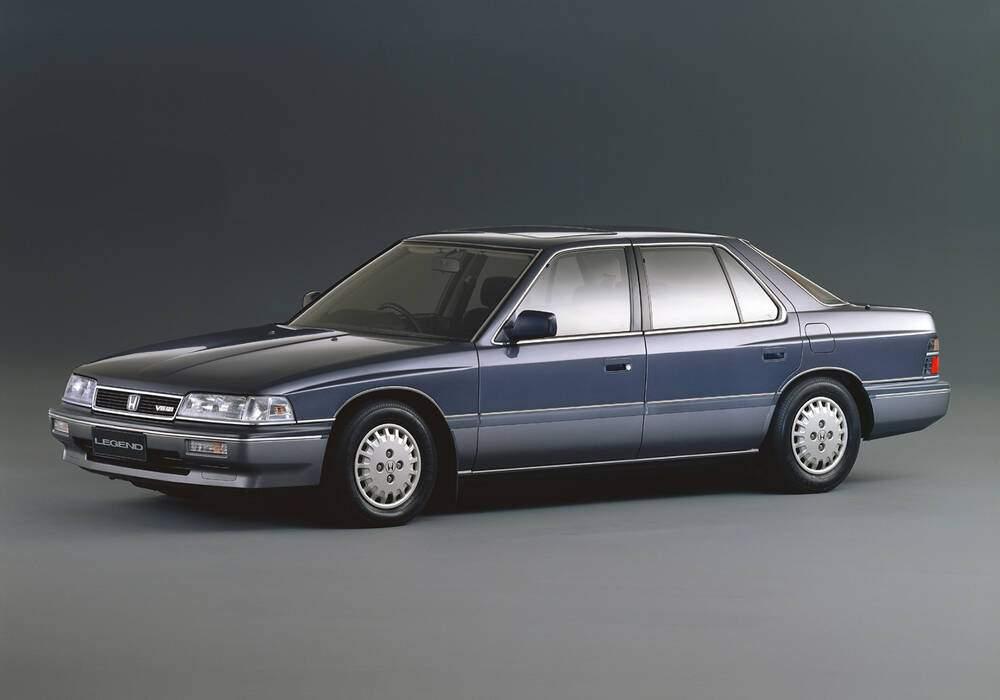 Fiche technique Honda Legend 2.5 V6 (1987-1988)