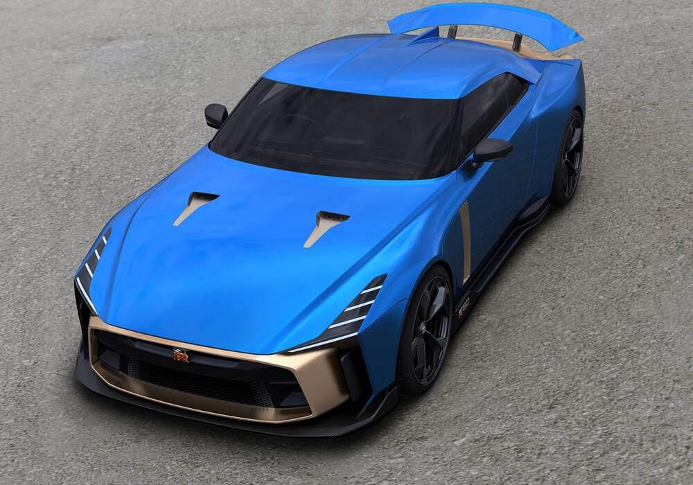 Fiche technique Nissan GT-R50 by Italdesign (2019-2020)
