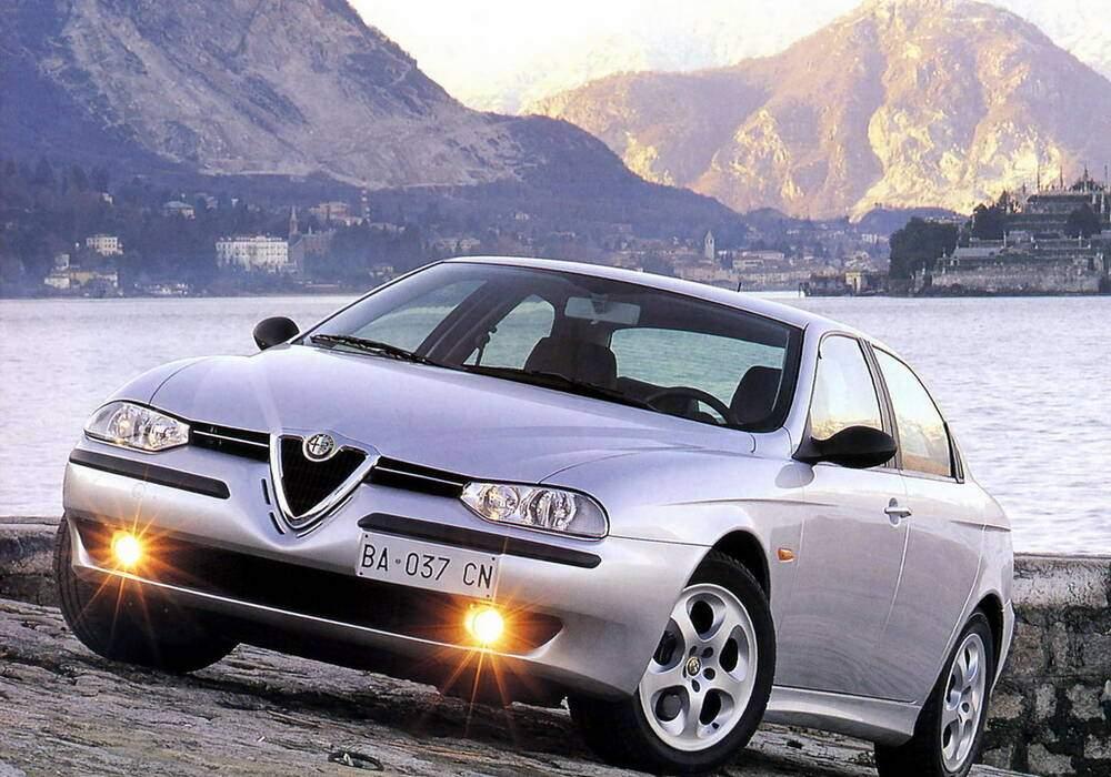 Fiche technique Alfa Romeo 156 2.0 TS 155 (932) (1998-2002)