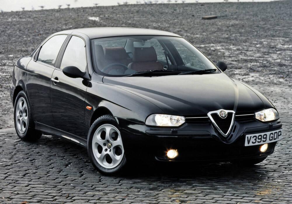 Fiche technique Alfa Romeo 156 2.5 V6 (932) (1998-2004)