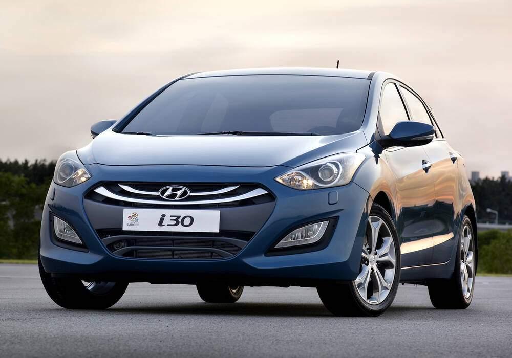 Fiche technique Hyundai i30 II 1.6 CRDi 130 (2012-2015)