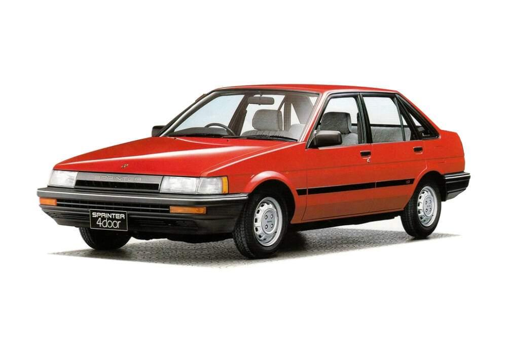 Fiche technique Toyota Sprinter V 1.5 (1983-1987)