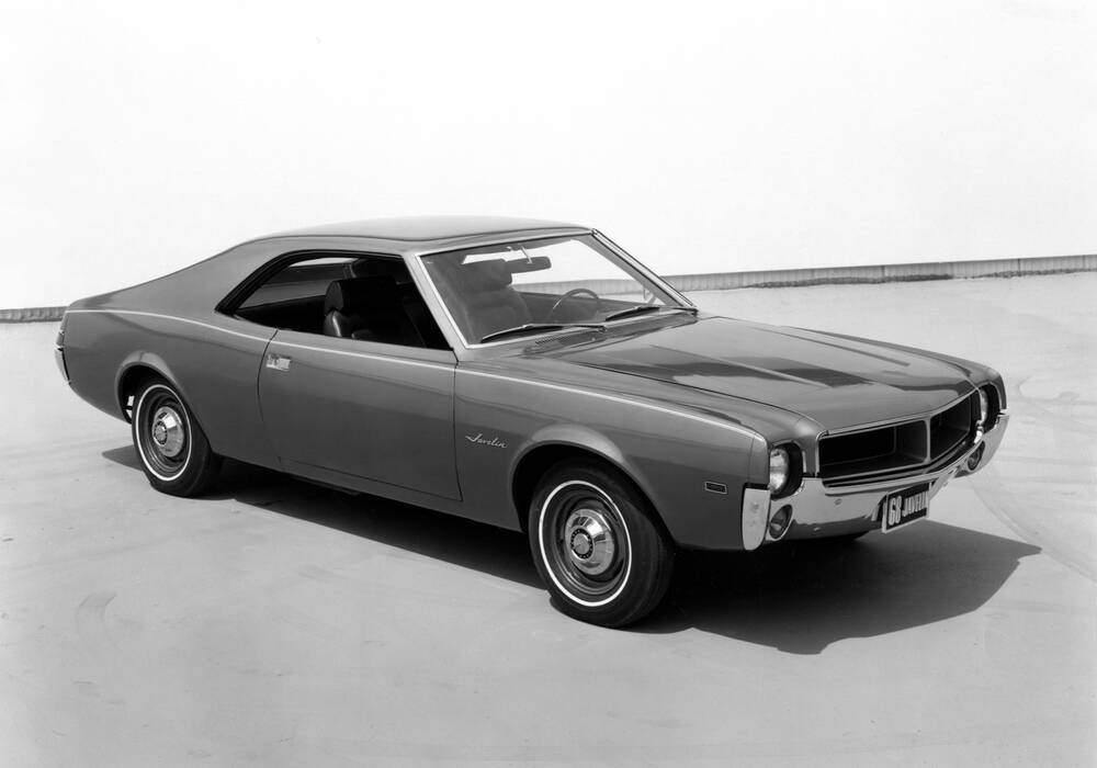 Fiche technique American Motors Javelin 343ci 285 (1968-1969)