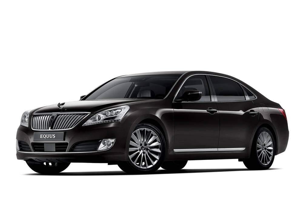 Fiche technique Hyundai Equus II 5.0 GDI 435 (VI) (2012-2016)