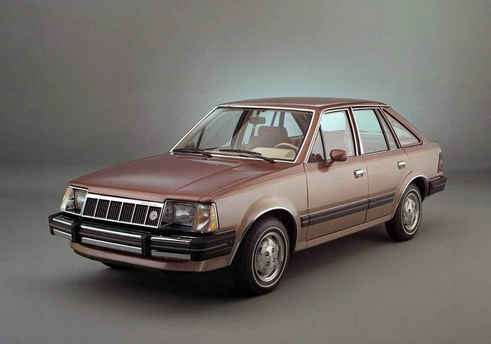 Fiche technique Mercury Lynx 1.6 (1981-1987)