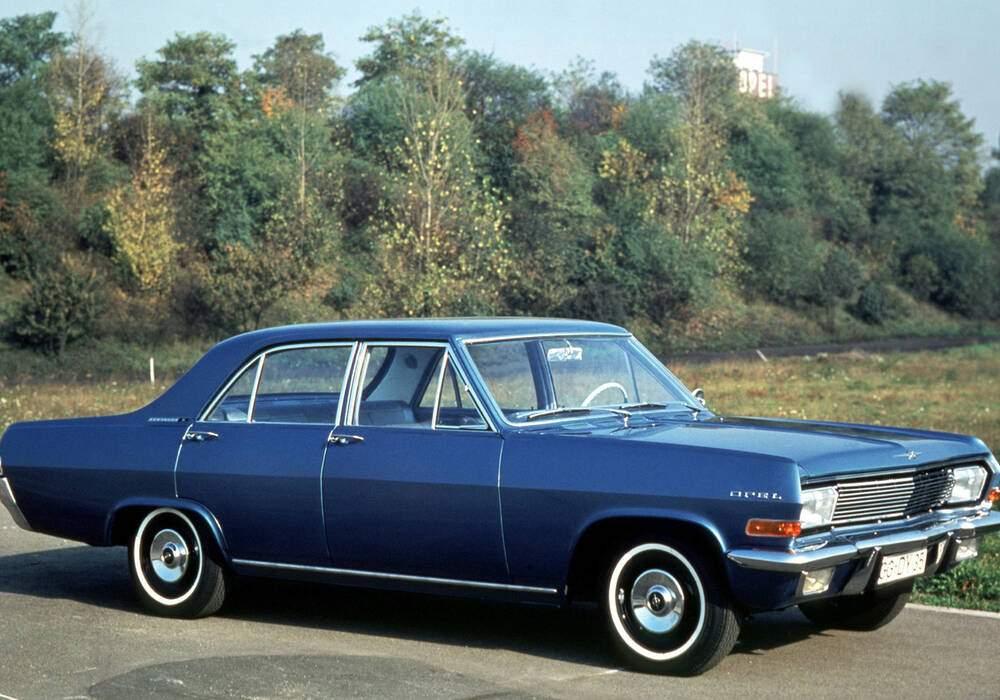 Fiche technique Opel Kapitän A 2800 S (1965-1968)
