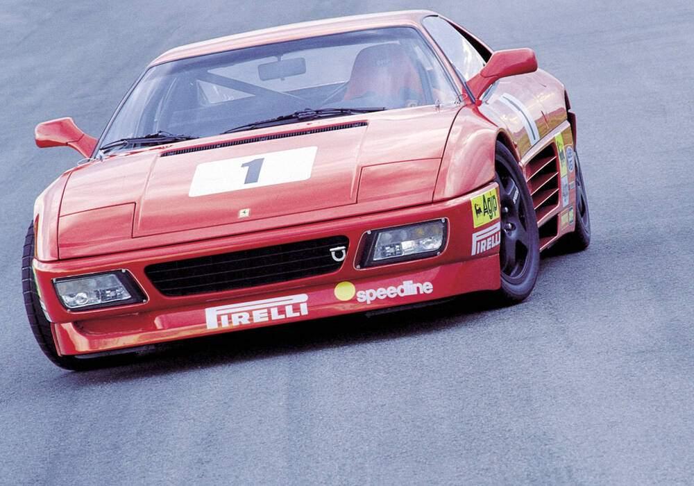 Fiche technique Ferrari 348 GT Competizione (1993-1994)