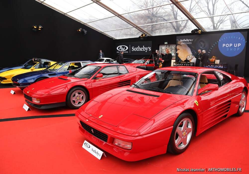 Fiche technique Ferrari 348 GTS (1993-1994)