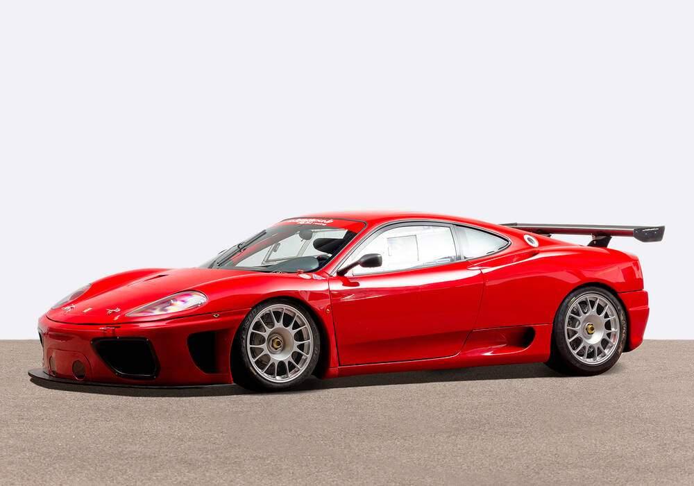 Fiche technique Ferrari 360 N-GT (2000)