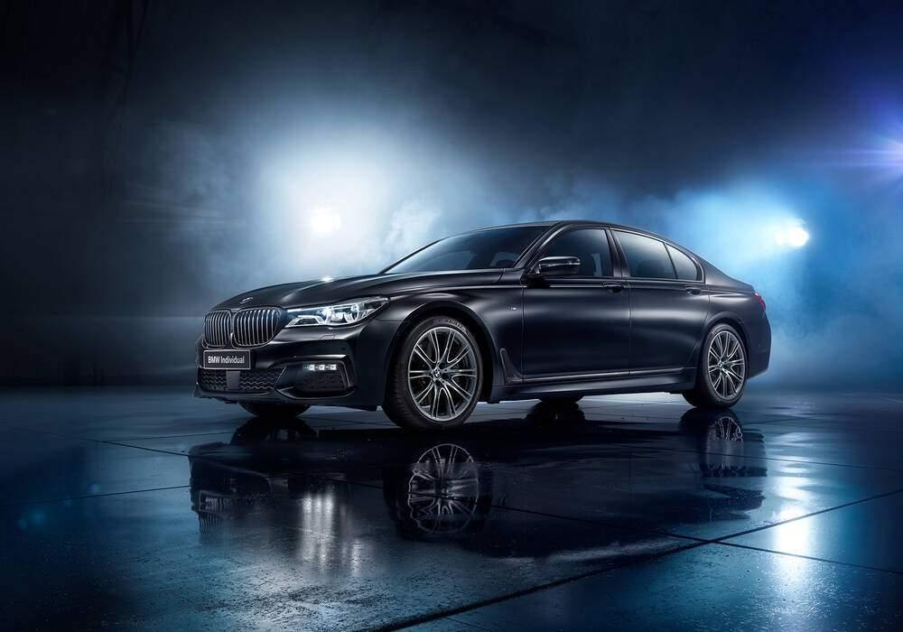 Fiche technique BMW 750i (G11) « Black Ice Edition » (2017)