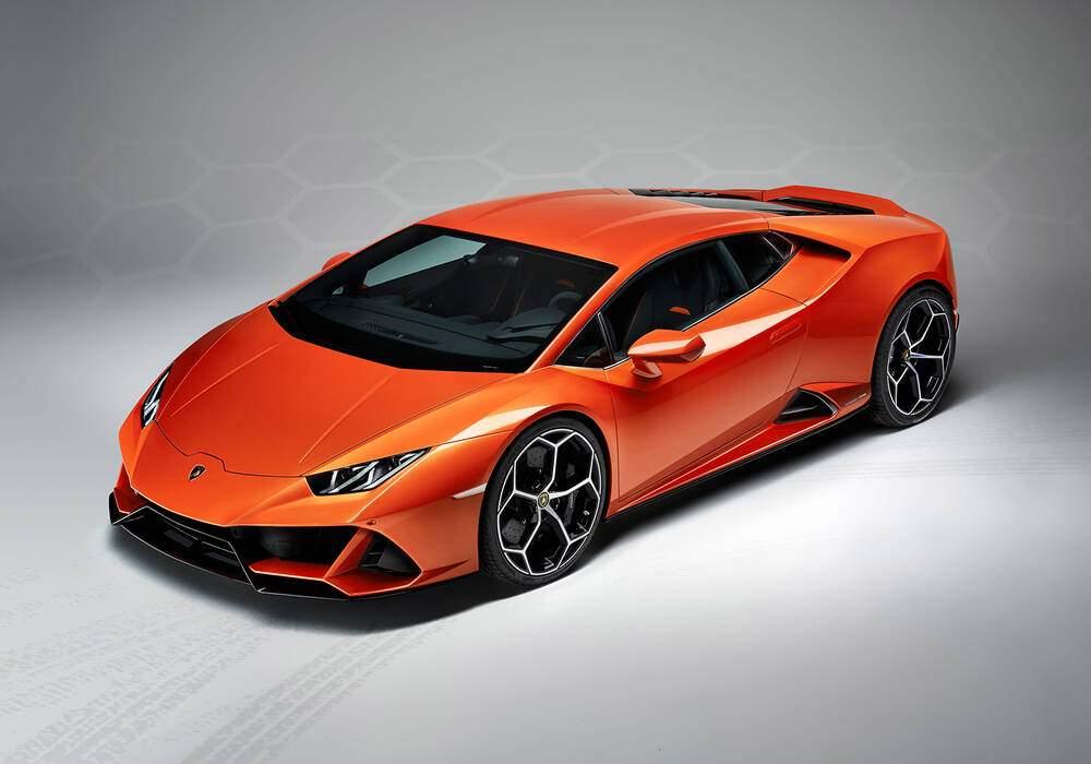 Fiche technique Lamborghini Huracán EVO (2019)
