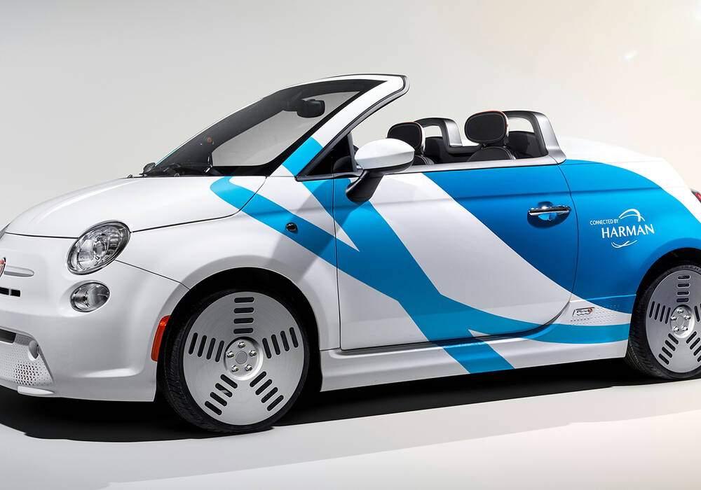 Fiche technique Fiat 500e Concept (2019)