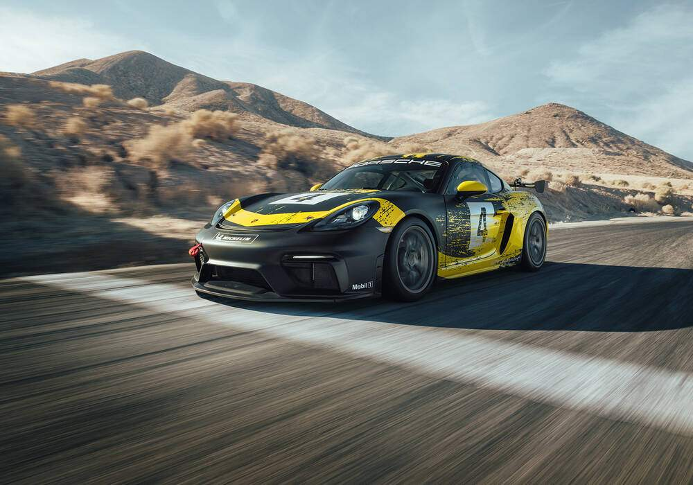 Fiche technique Porsche 718 Cayman GT4 Clubsport (2019)