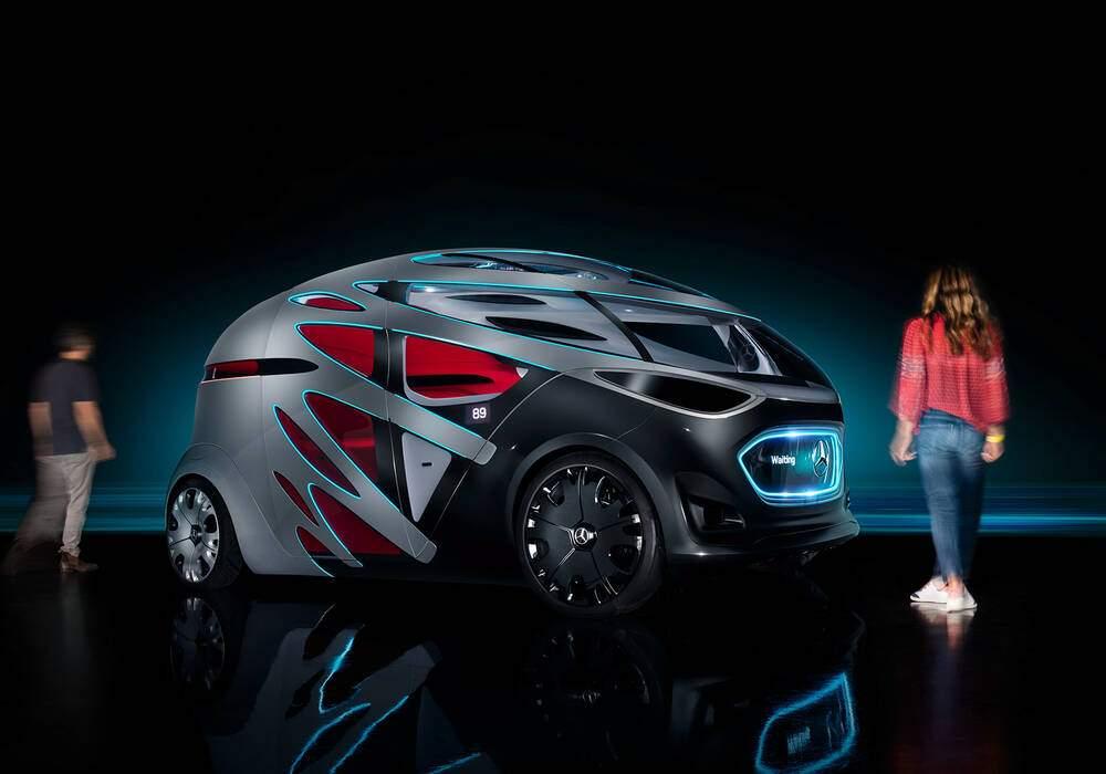 Fiche technique Mercedes-Benz Vision Urbanetic (2018)