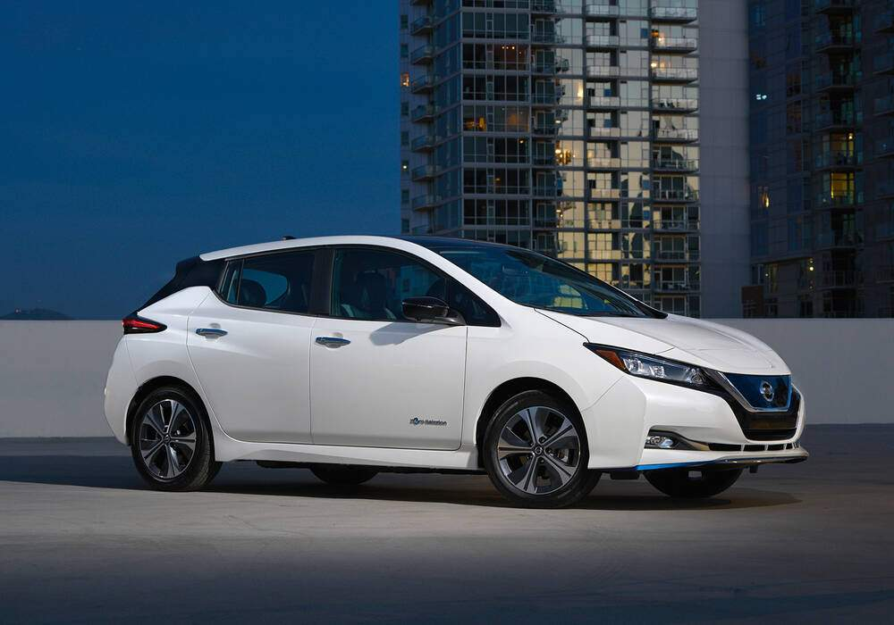 Fiche technique Nissan Leaf II e+ (2019)