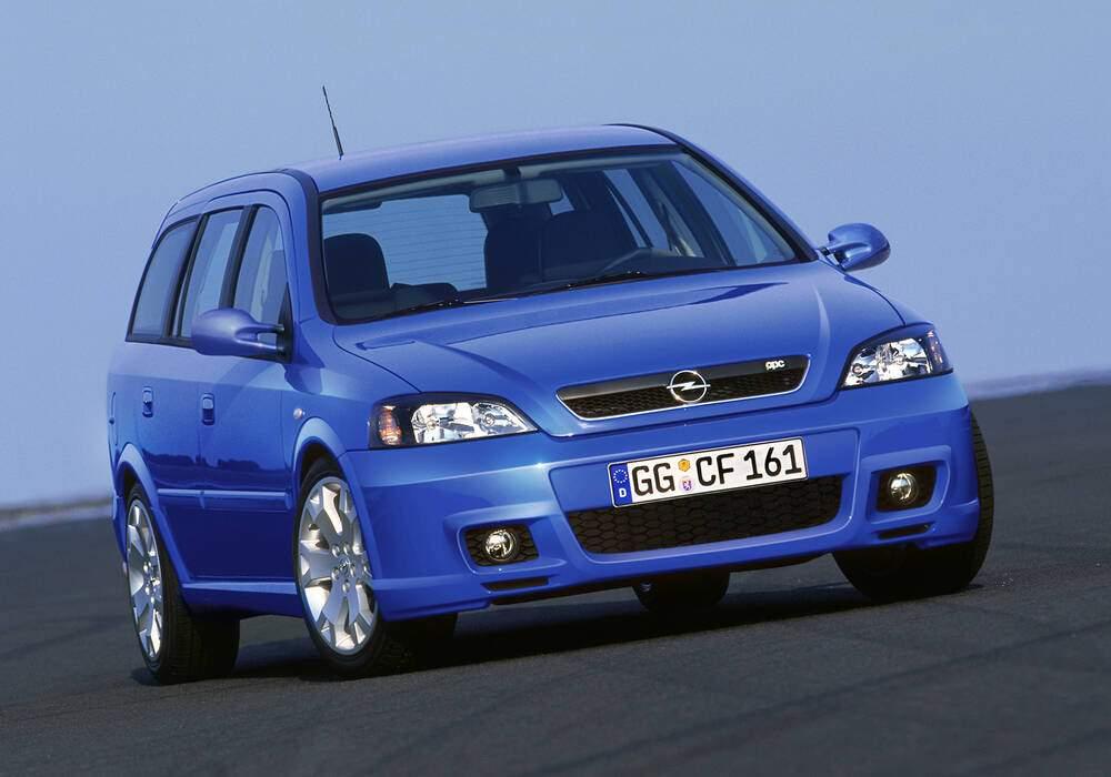 Fiche technique Opel Astra II Caravan OPC (2002-2004)