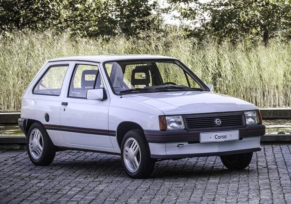 Fiche technique Opel Corsa 1.5 TD (1988-1993)