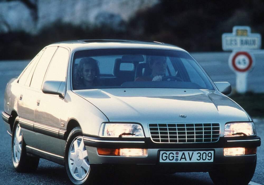 Fiche technique Opel Senator III 3.0i (B) (1987-1989)