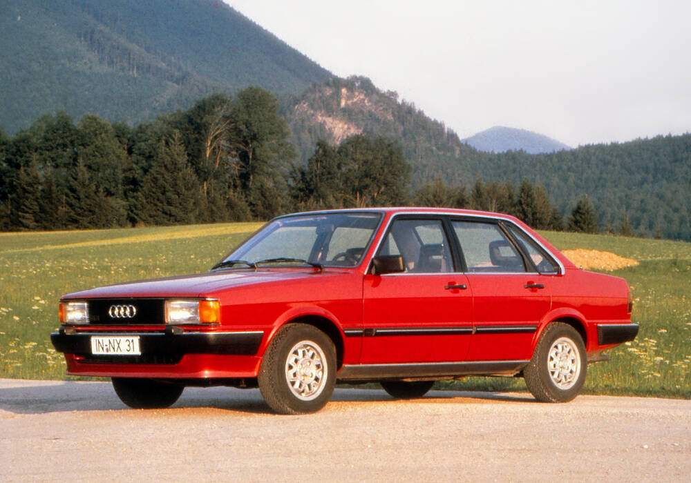 Fiche technique Audi 80 II 1.9 CD (1981-1983)