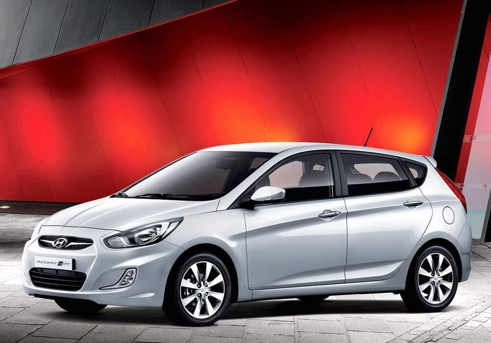 Fiche technique Hyundai Accent IV 1.6 (2011-2017)