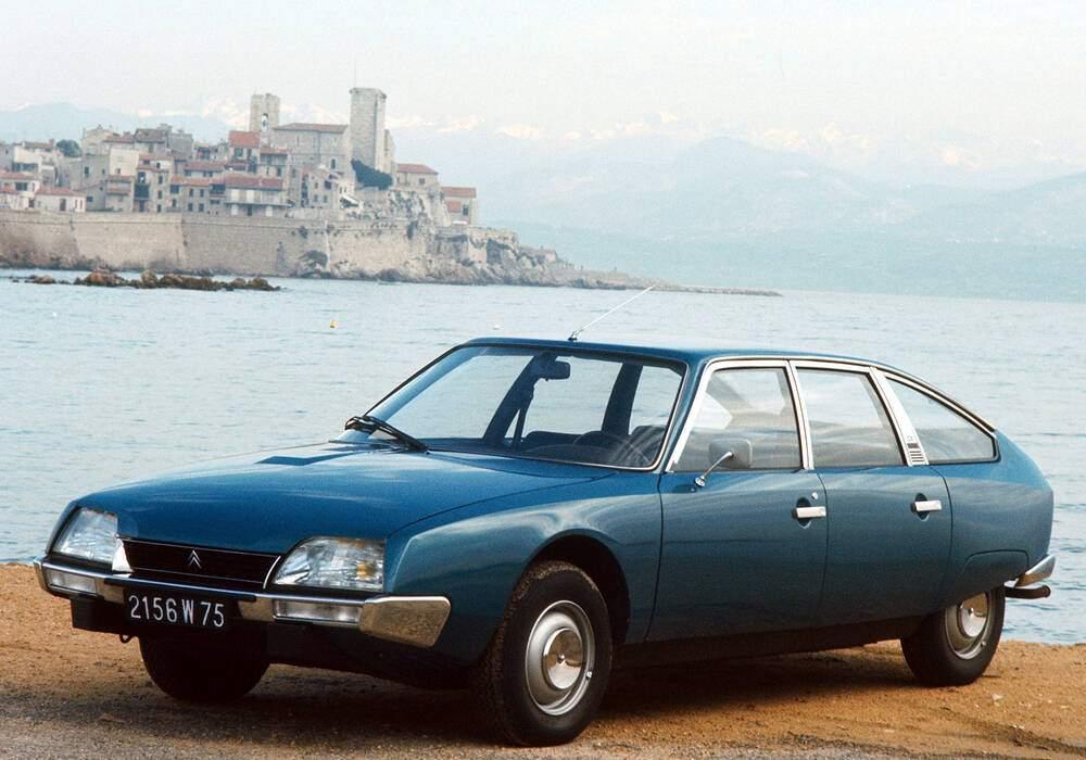 Fiche technique Citroën CX 2000 (1974-1979)