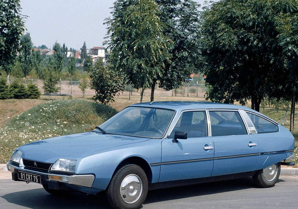 Fiche technique Citroën CX Limousine 2500 D (1978-1983)