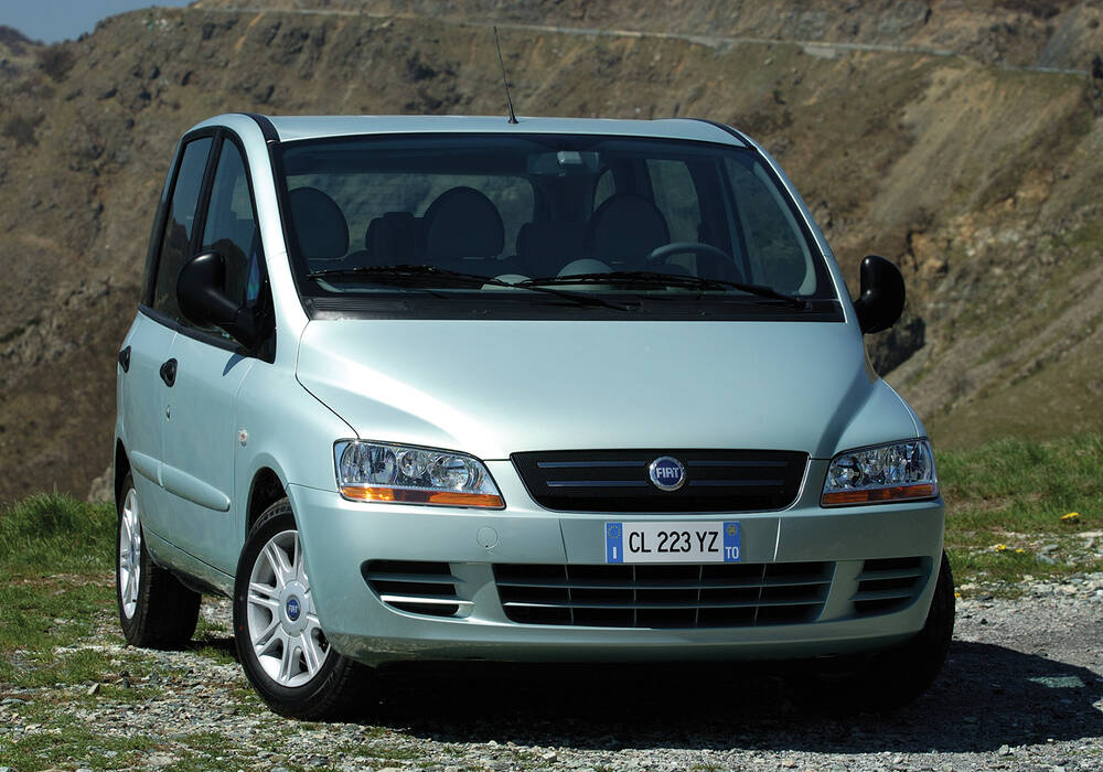 Fiche technique Fiat Multipla 1.9 JTD 120 (2006-2010)