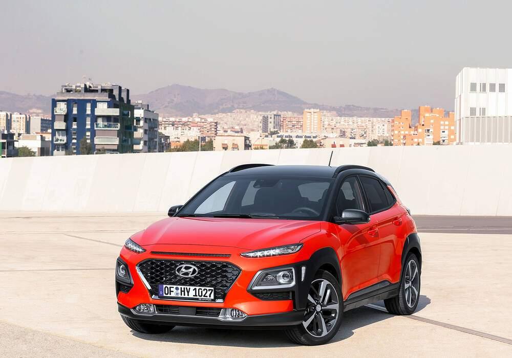 Fiche technique Hyundai Kona 1.6 CRDi 115 (OS) (2018)