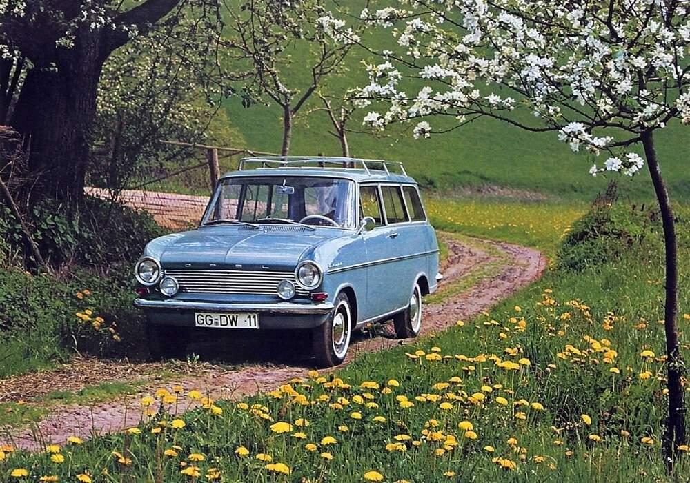 Fiche technique Opel Kadett Caravan 1000 (1963-1965)
