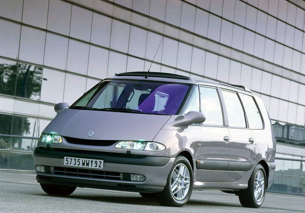 Fiche technique Renault Grand Espace III 2.2 dCi 130 (2000-2002)