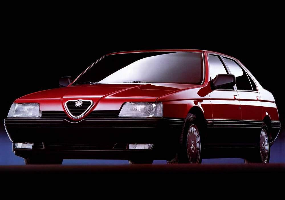 Fiche technique Alfa Romeo 164 2.5 TD (1987-1992)
